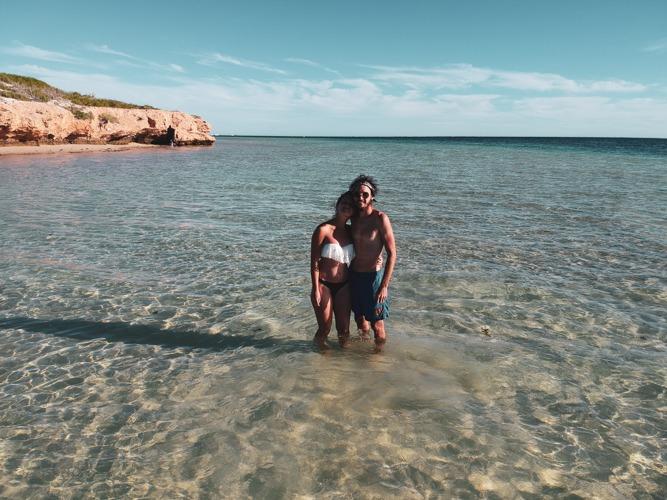 coral bay côte ouest en Australie