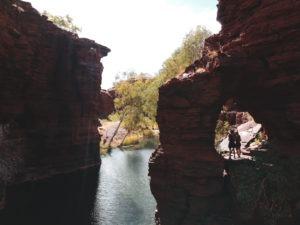 Karijini Côte ouest en Australie