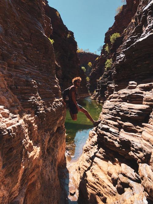 Karijini knox gorge