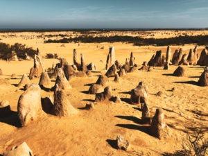 Pinacles national park west coast australie