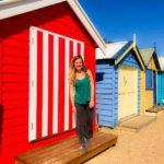 cabane de plage Visiter Melbourne en deux jours