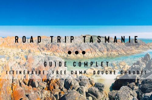 road trip australie tasmanie