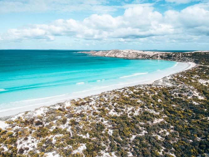 Coffin bay plages d'australie