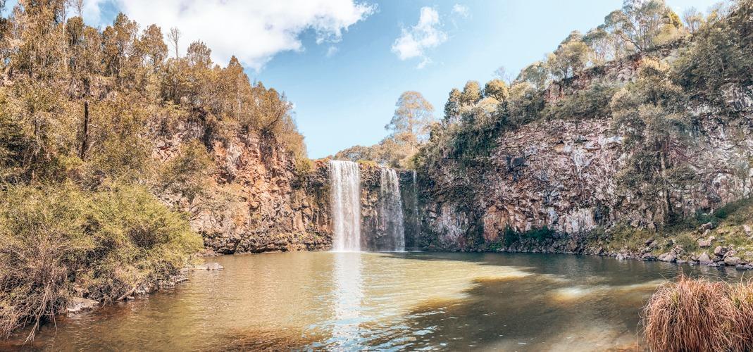 Dangar falls Dorrigo national park
