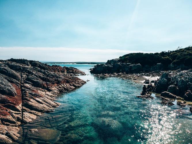Eddystone point plages d'australie