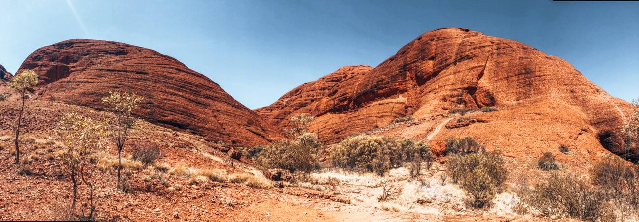 mont Olga Road trip Darwin Adélaïde