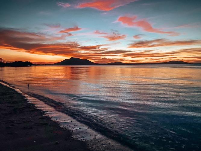 sunset plages d'australie