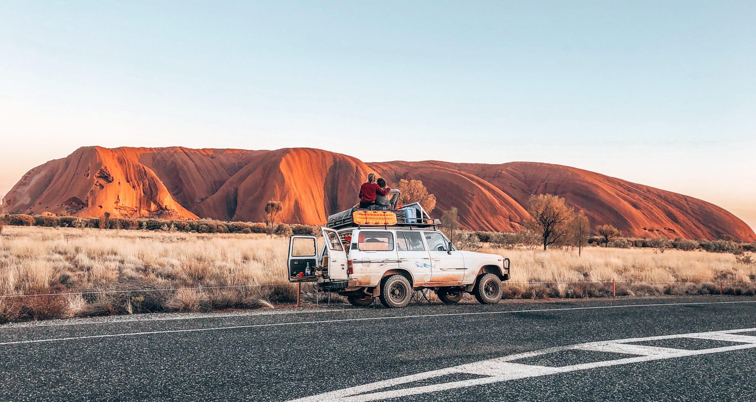 Uluru Road trip Darwin Adélaïde
