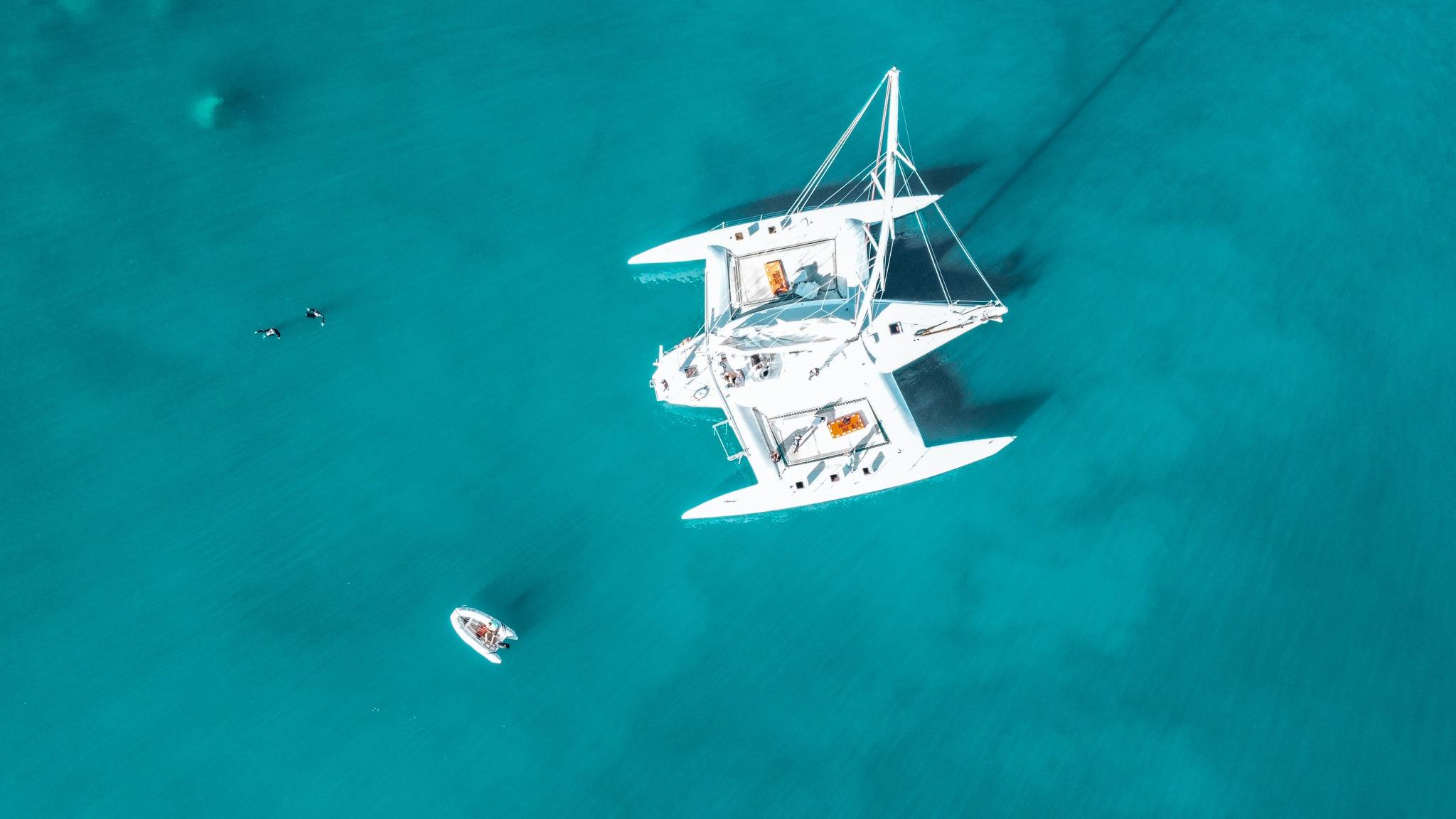 croisière île Whitsunday en australie