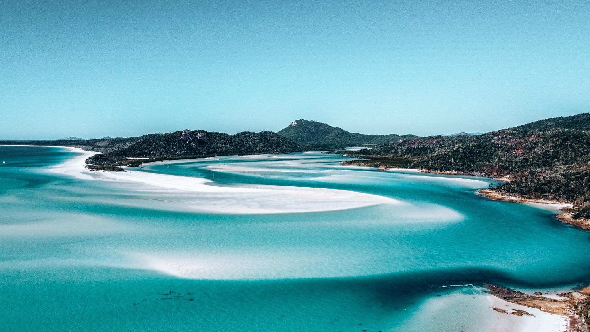 îles Whitsunday en australie