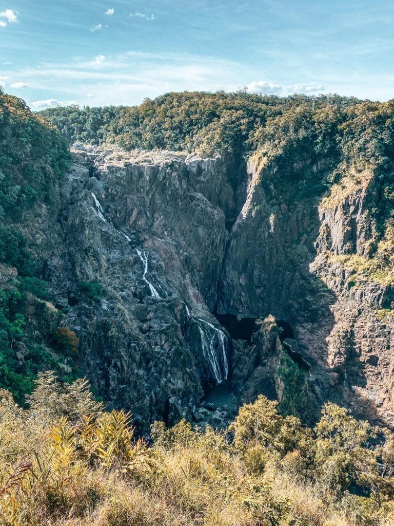 cascade barrage australie