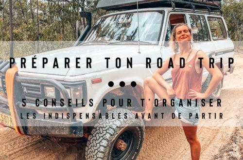 préparer road trip en australie