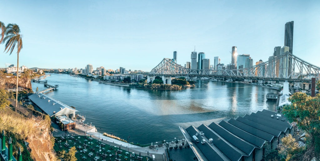 Brisbane CBD oad trip côte est en australie