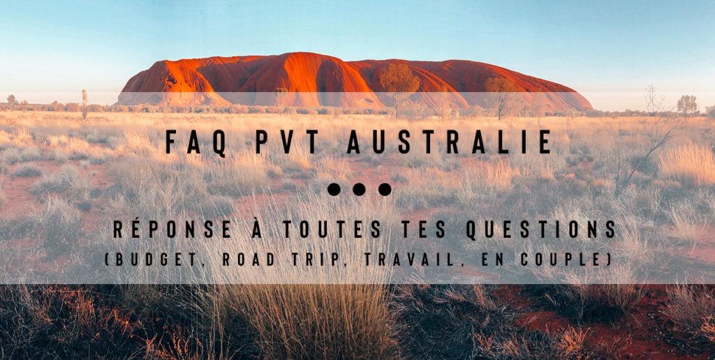 FAQ PVT Australie