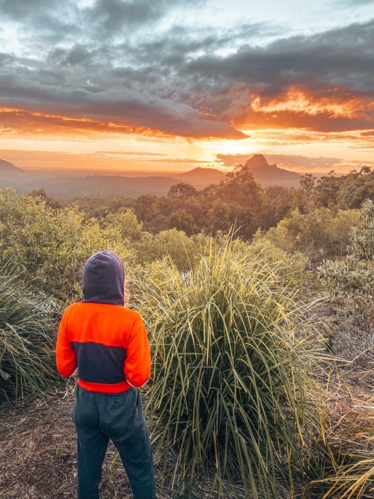 sunrise oad trip côte est en australie