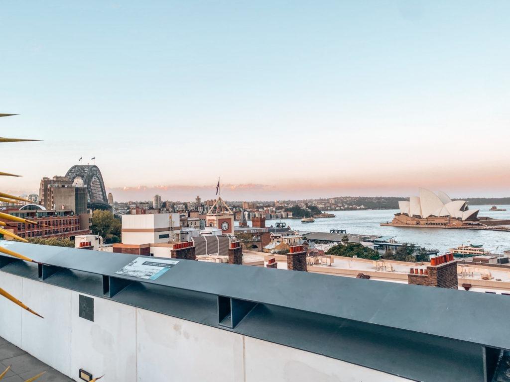 vue Harbour Bridge et opéra Sydney