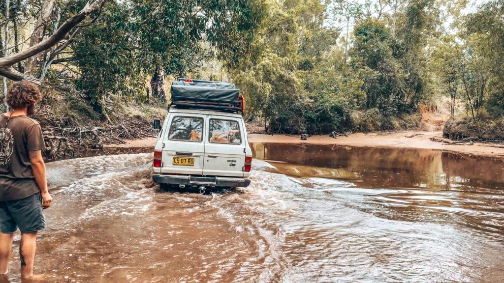 traversé de rivière