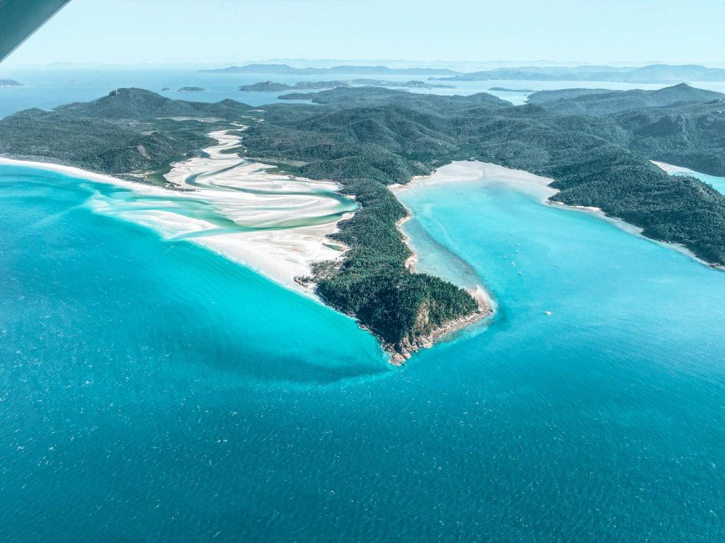 Whitehaven beach road trip australie