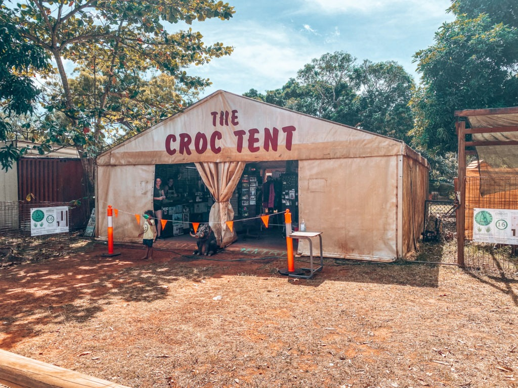 croc tent Cape York