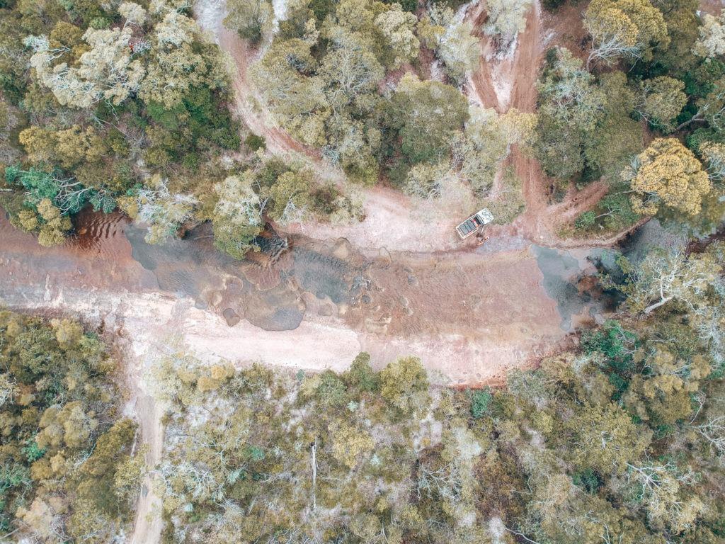 drone rivière