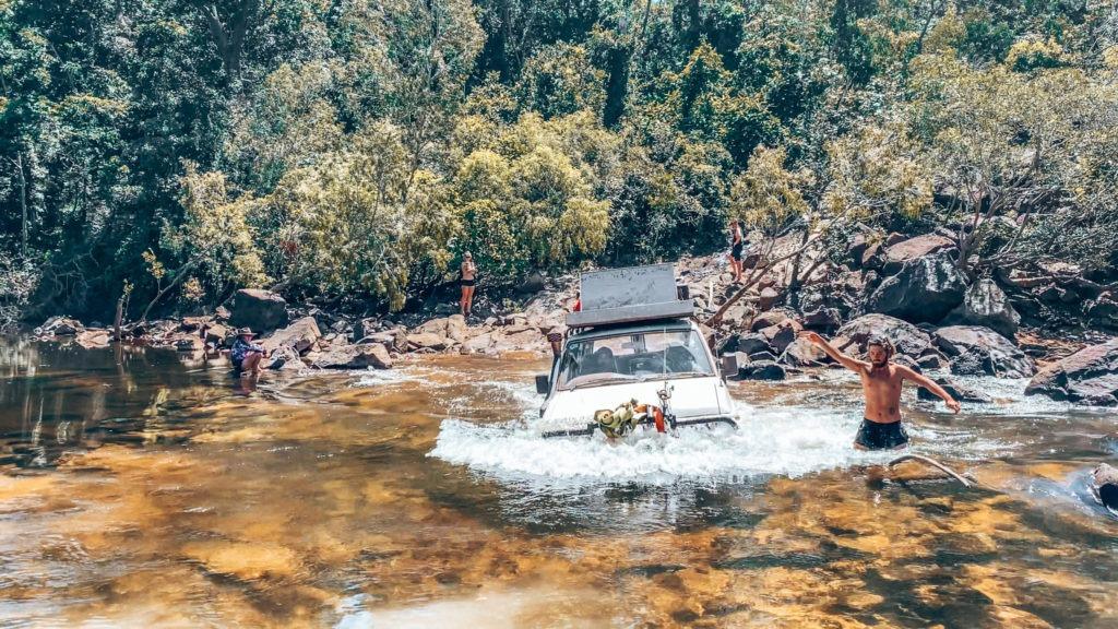 river crossing australie